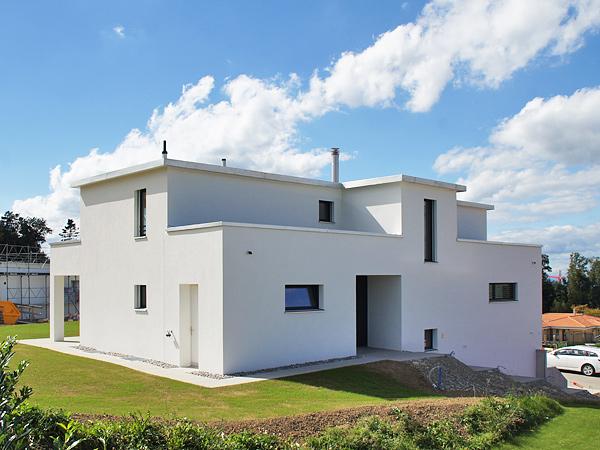 Neubau Einfamilienhaus Frauenfeld Referenzen Isolieren