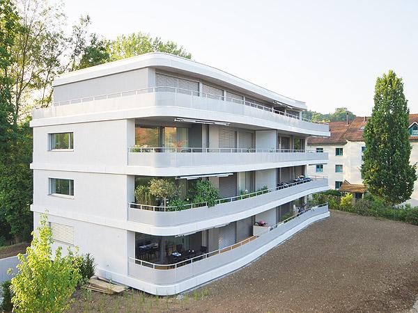 Neubau mehrfamilienhaus in frauenfeld referenzen isolieren for Mehrfamilienhaus mieten